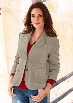 Ladies Blazer Women's Cotton Blazer Corduroy Blazer - Buy Women's ...