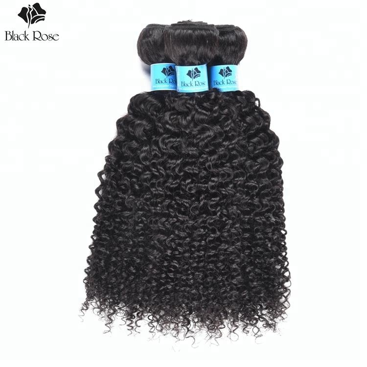 Virgin Indian Hair Raw Natural Curly Hair Extensions 100% Unprocessed Kinky Curly Indian Temple Hair Weaves