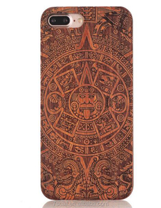 Laser Engraved Best Quality blank wood tpu pc back cover,wooden covers with logo for iPhone 7 plus XS