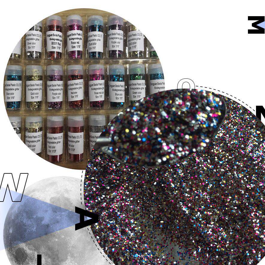 Eco Friendly Bio Glitter para Cosméticos