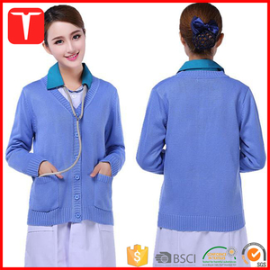 Ladies beautiful formal sweaters nurses cardigans