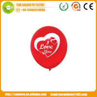 Logo Branded Eco-friendly Latex Free Balloons balloon shop