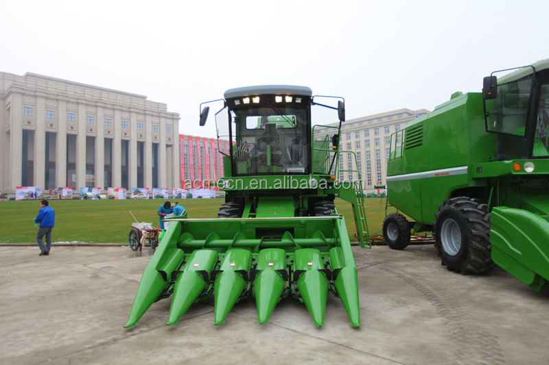 Corn Farming Machinery Largest Output Tractor Corn Combine Harvester For  Sale - Buy Largest Output Tractor Corn Combine Harvester,Tractor Combine