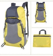 new fashion promotional lightweight OEM Quilted Nylon Foldable Backpack waterproof foldable backpack