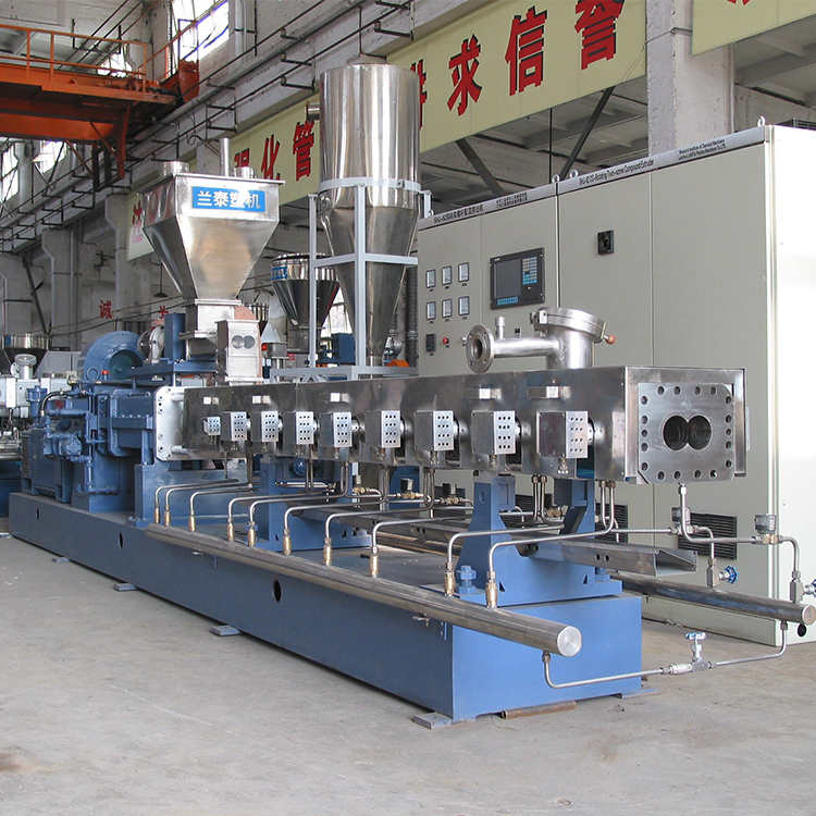 SHJ-75 Twin Schroef Compounding Extruder produceren PVC/ABS