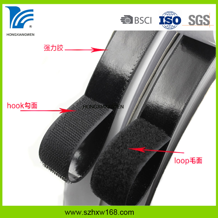 Skillful Manufactyring Firm Customized Self Adhesive Hook And Loop Fastener Tape Dots
