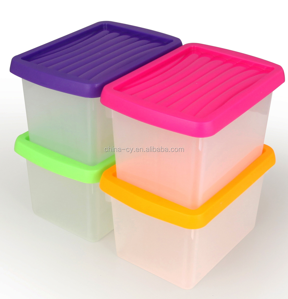 wholesale small plastic storage containers with lids