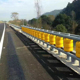 Safety roller crash barrier