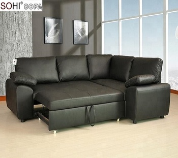 Comfortable Leather Sofa Bed Corner