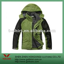 2012 Newest Men Winter Jackets With Removable Polar Fleece Lining