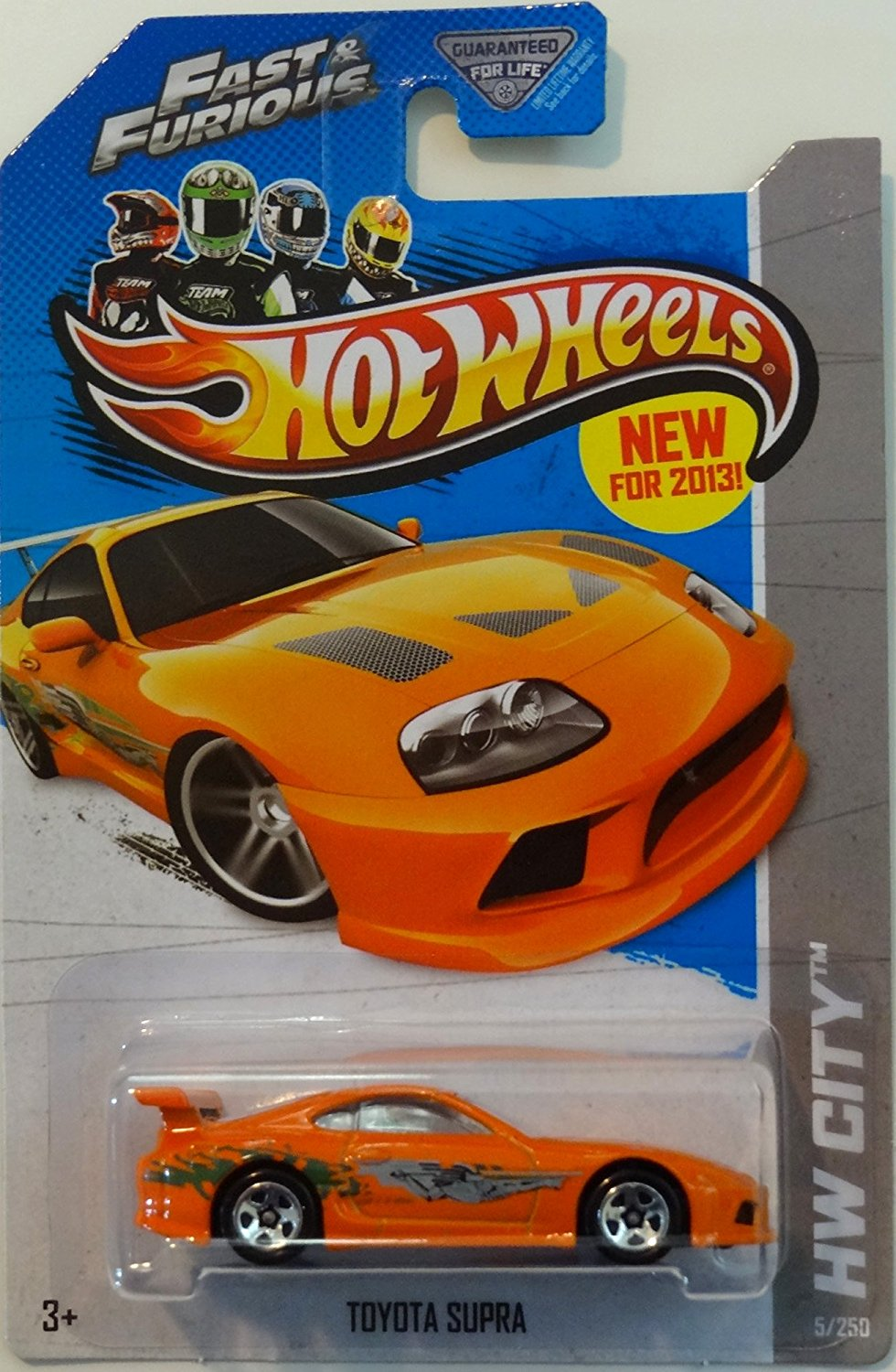 Get Quotations · 2013 Hot Wheels Hw City Fast U0026 Furious 5/250   Toyota Supra