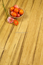 Panting Black Natural Strand Woven Bamboo Flooring