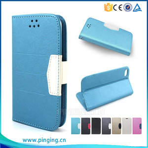 Guangzhou Pinjun scrub flip leather cover mobile phone case for hisense x8t , wallet case for hisense x8t