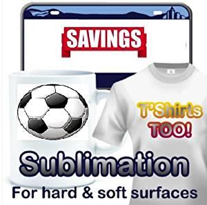 "Papel transfer de sublimación, sublimation transfer paper 8.5""x11"""