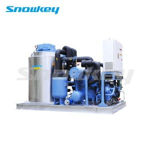 Snowkey Industrial Flake Ice Making Machine 8 ton Ice Machines For Sale Ice Factory Price