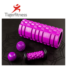 Tiger <span class=keywords><strong>Fitness</strong></span> Neu Design <span class=keywords><strong>Bunte</strong></span> Crossfit Muskel Entspannen Massage EVA Raster <span class=keywords><strong>Fitness</strong></span> Hohlen Schaumstoffrolle