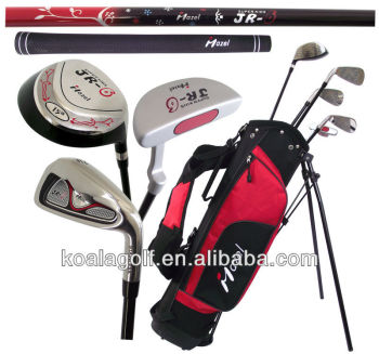 Mazel Junior Golf Club Set, Full Set Golf Club Glof Driver Head