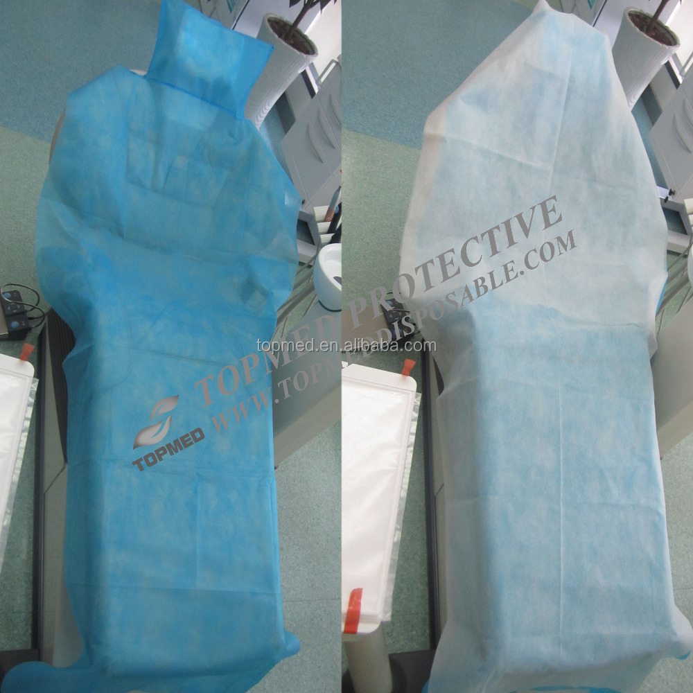 bed comforters for dental hospital, disposable bed sheets or paper cover with elastic