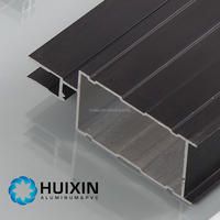 Decorative aluminum extruded structural frame aluminum profile for window