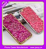 JESOY Hot Selling 3D Diamond Bling Electroplating Soft Silicone Case For iPhone 5 6