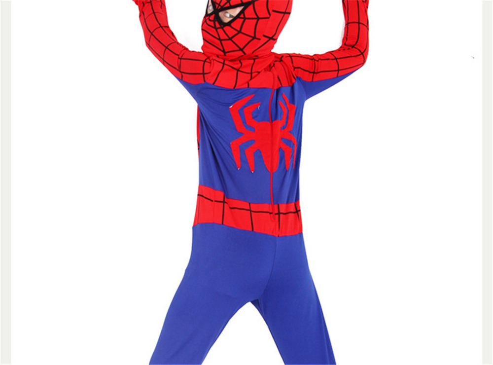 Party Supplies Cosplay Spiderman Movie Classic Muscle Child halloween costume for kids infantiles superheroes font b