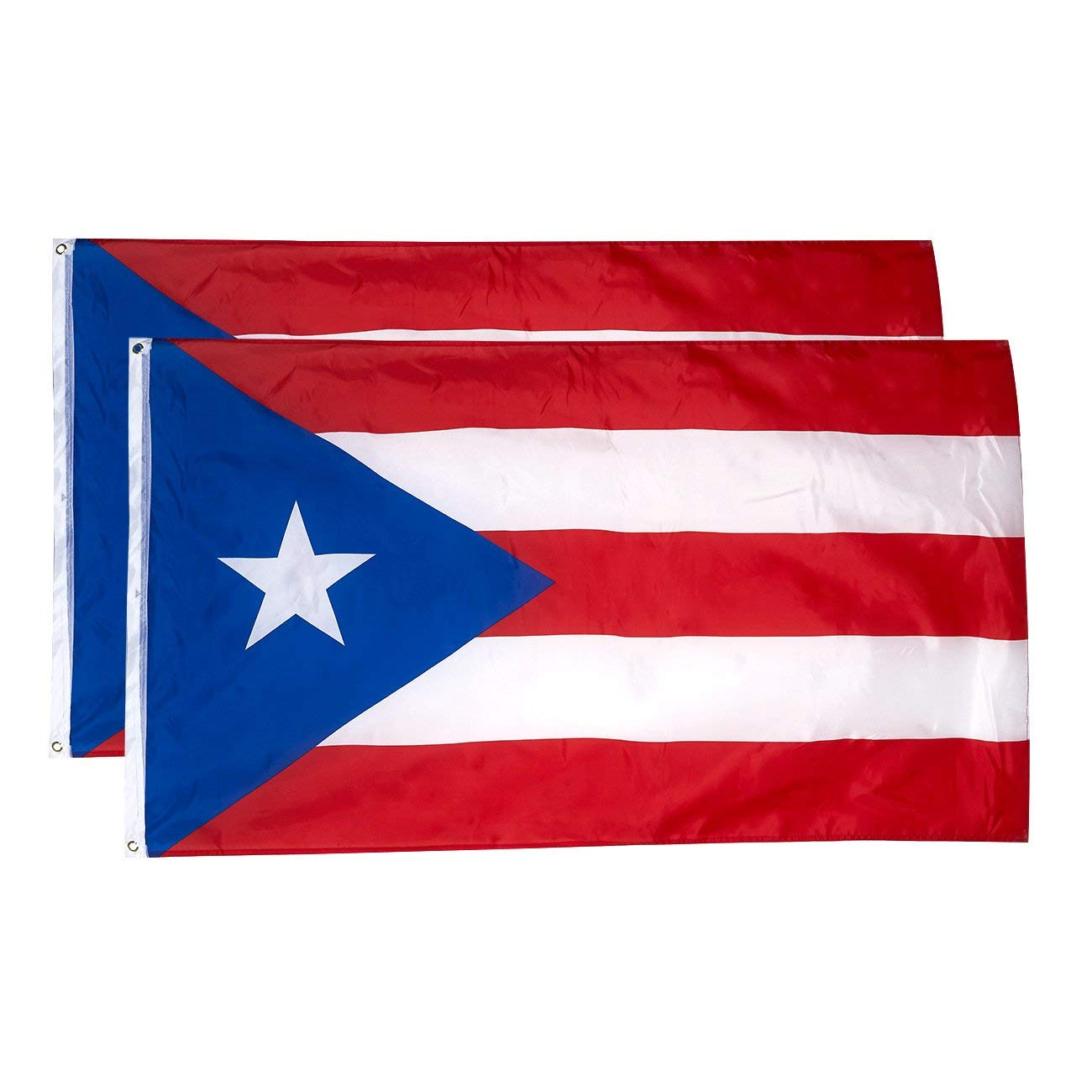 Get quotations · juvale puerto rico flags 2 piece outdoor 3x5 feet puerto rico flags puerto