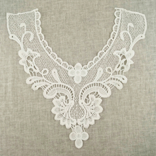 White Bridal Wedding Collar Venice Lace