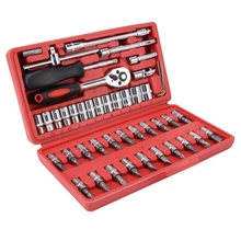 Groothandel Dropshipping 46 in 1 <span class=keywords><strong>Auto</strong></span> Reparatie Tool Socket Sets Combinatie Moersleutel <span class=keywords><strong>Set</strong></span>