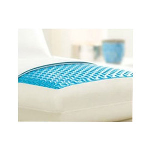 Gel cushion gel-infused cooling gel memory foam pillow