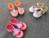 new arrival colorful baby shoes 2017 mini melissa remake factory boutique kid sandal