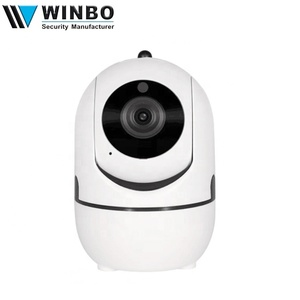Sound Alarm Auto Tracking 720P Mini Security Video IP Camera Support Cloud Storage
