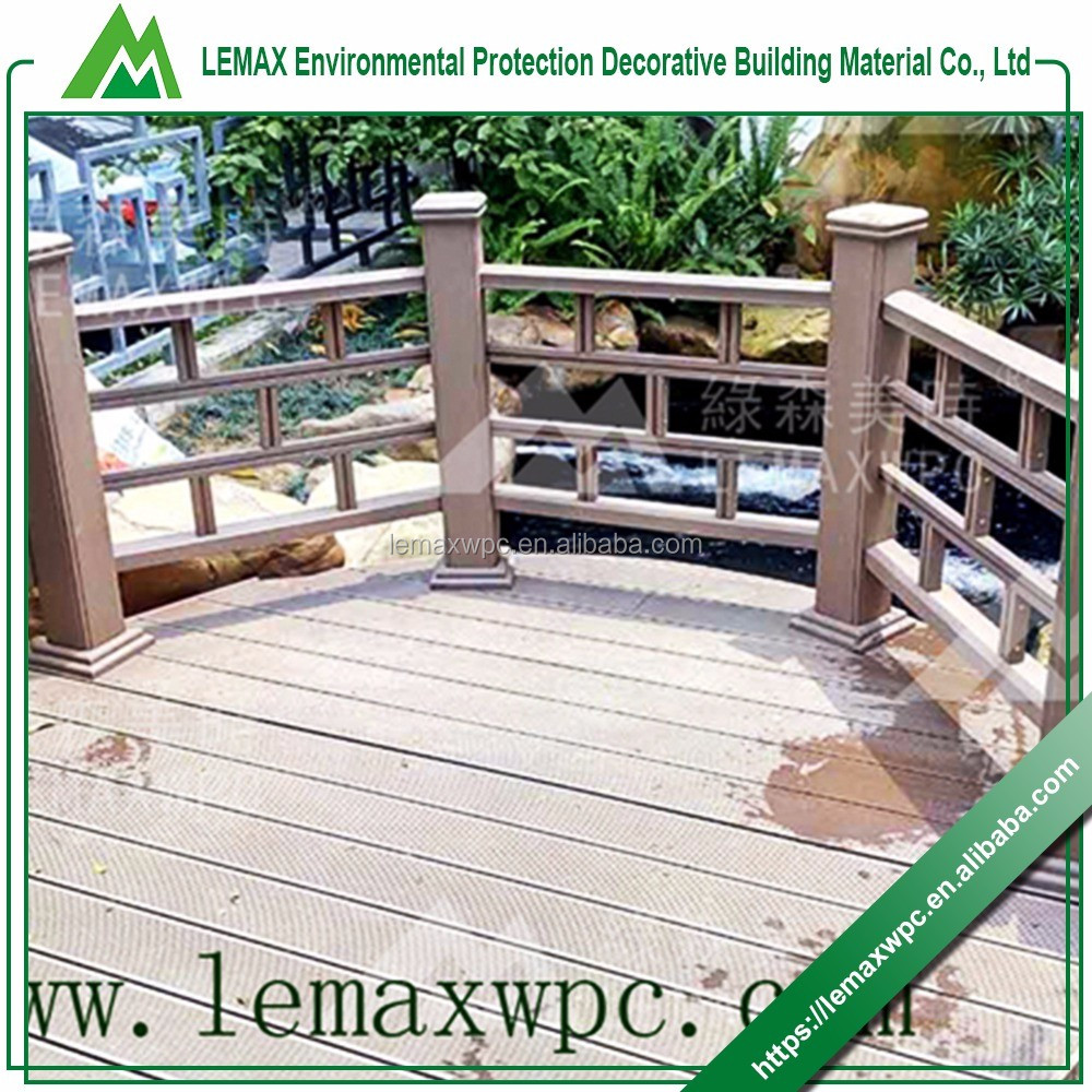 Short time delivery high quality reasonable price balcony railing wood