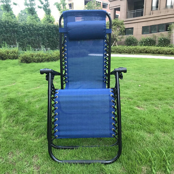 Newest Zero Gravity Portable Folding Beach Chair Simple Aluminum Chair  Beach Lounge Chair With Footrest