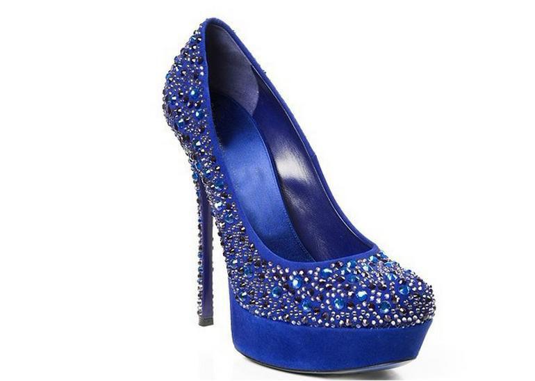 Horizon Blue Wedding Shoes