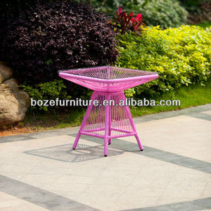 New Design!!Outdoor rattan coffee table/Leisure style outside table/rattan table