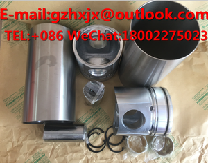 Engine Parts S6D102E S6D105 S6D95L for Excavator CYLIND LINER KIT PISTON  RING Rebuild kit GASKET KIT