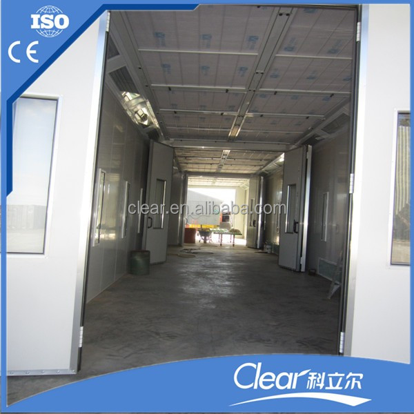 Truck, Bus or Train Paint Booth, Train Paint Booth