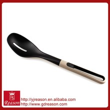 High temperature resistant nylon kitchen utensil frying slotted spoon