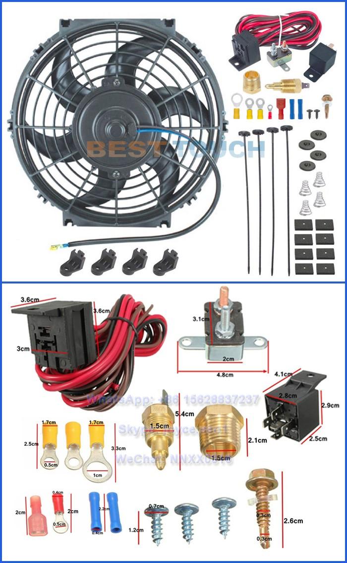 Brancher le relais du ventilateur