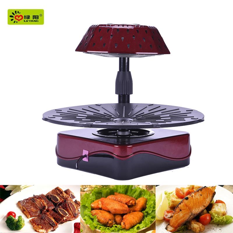 3d int rieur sans fum e infrarouge chauffage barbecue grill commerciale four pizza grille de. Black Bedroom Furniture Sets. Home Design Ideas
