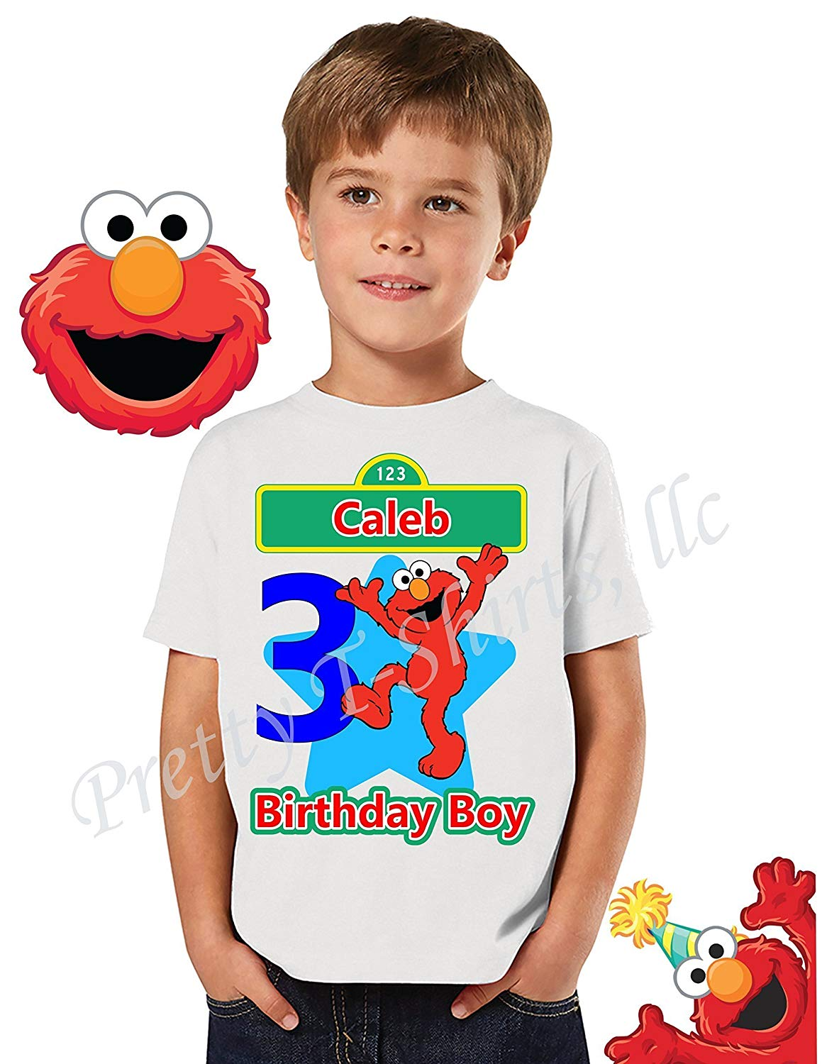 c26c5bba The Sesame Street Count t-shirt features the lovable fa... Get Quotations ·  Elmo Birthday Shirt, FAMILY Birthday Shirt, Elmo Birthday Boy Shirt, Elmo  Shirt ...