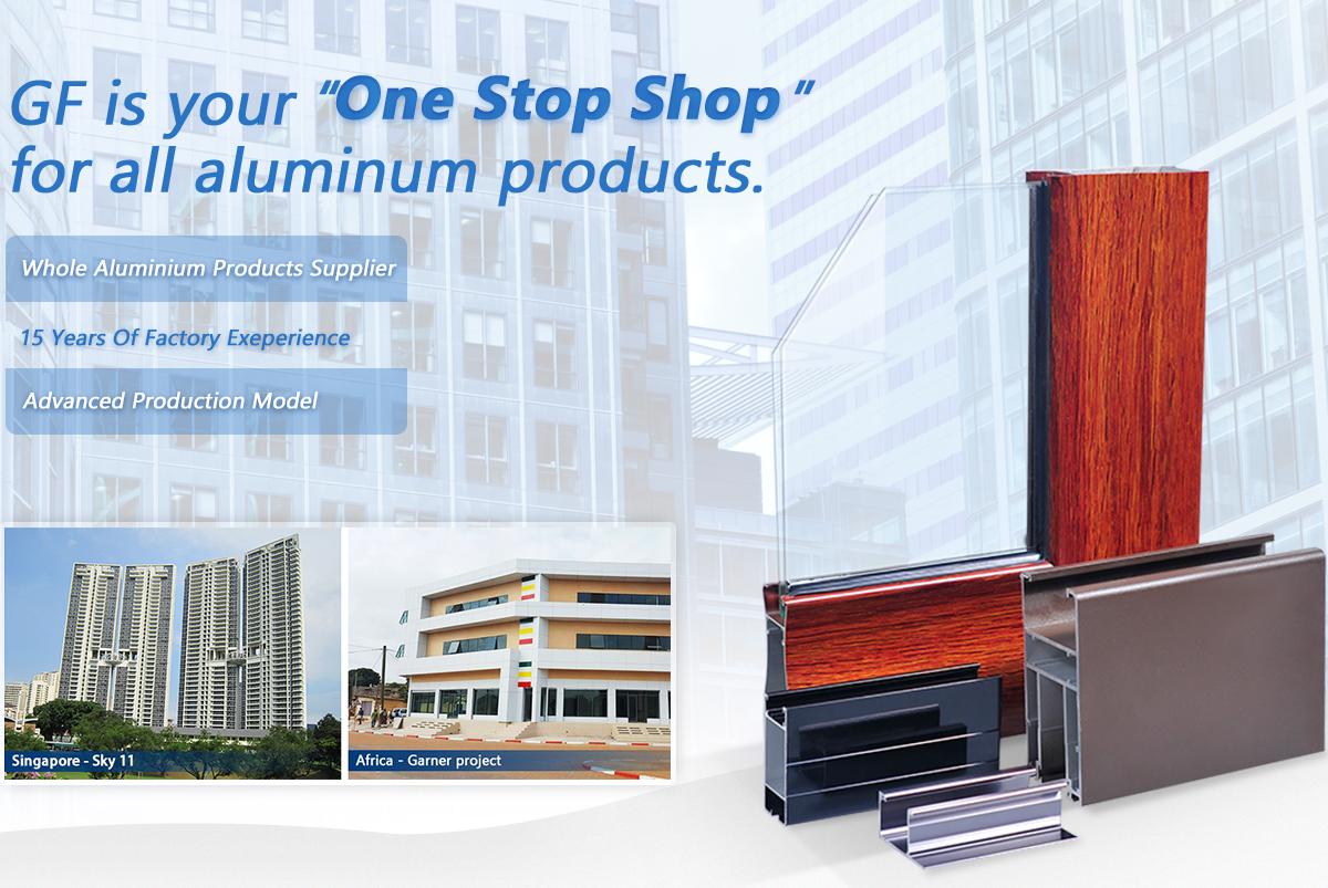 Foshan Gf Curtain Wall Co Ltd Aluminium Doors Aluminium Windows