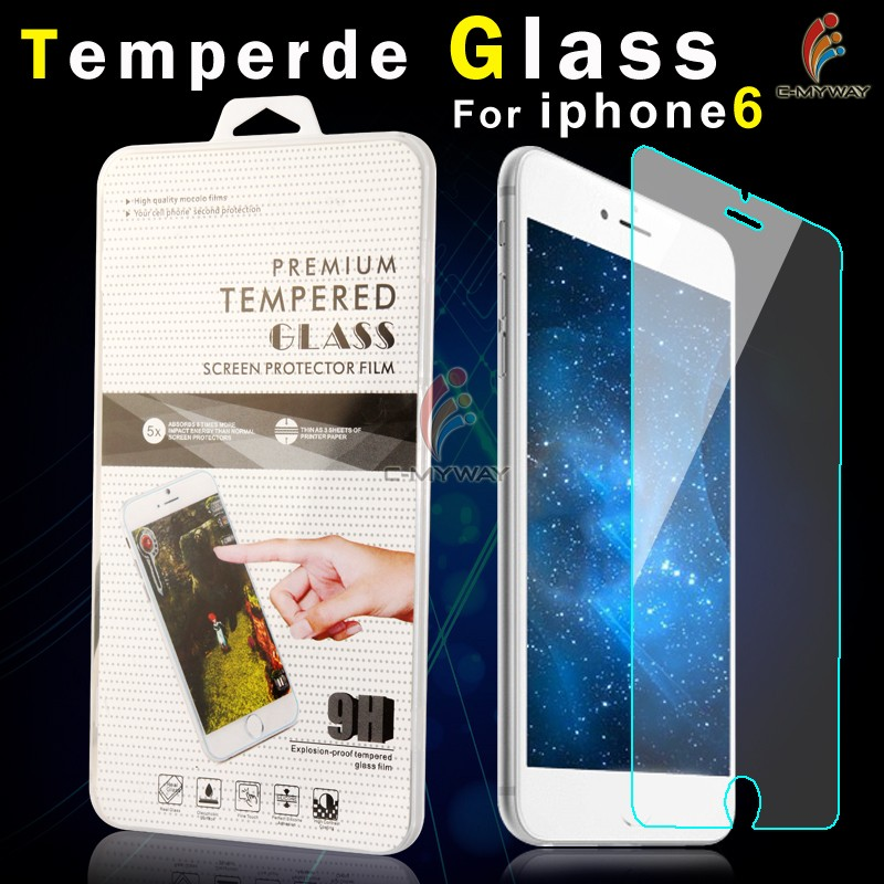 Low Price + Gold Supplier Anti Broken tempered glass screen protector for iPhone4/4s oem/odm (Glass Shield)