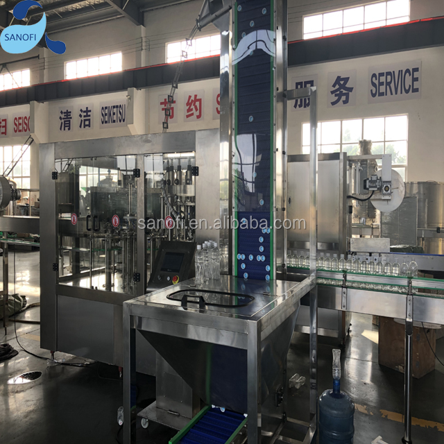 Automatic Hot Sauce Filling Machine For Juice 3 IN 1 Filling Plant