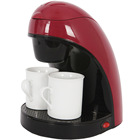 Two cup personal Coffee Maker one cup electric drip coffee maker with two mugs