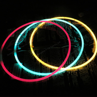22 Inch Glow Sticks - Bendable Glow Sticks Necklace With Connector