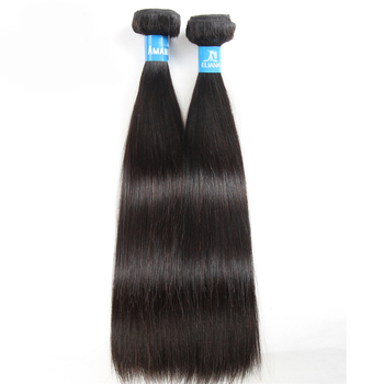 100% Indian Human Hair Products Raw Material Silky Straight Hair Bundles