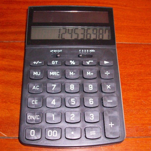MANUFACTURER new design special shape dual solar power office calculator