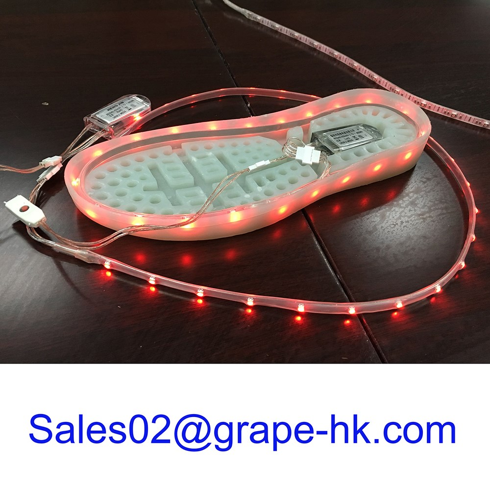 Light Up Led Shoes Accessories Parts Battery Operated Led Shoes ...