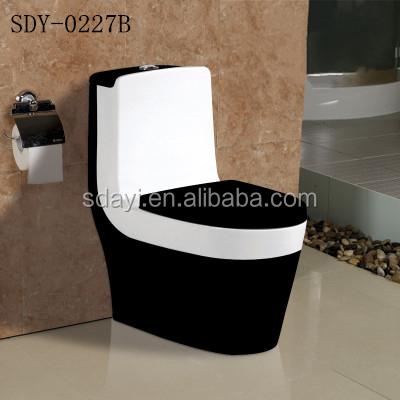 Keramische gekleurde wc toiletpot sanitair kleur wc zwart bruin toiletten product id 60535112525 - Wc kleur ...